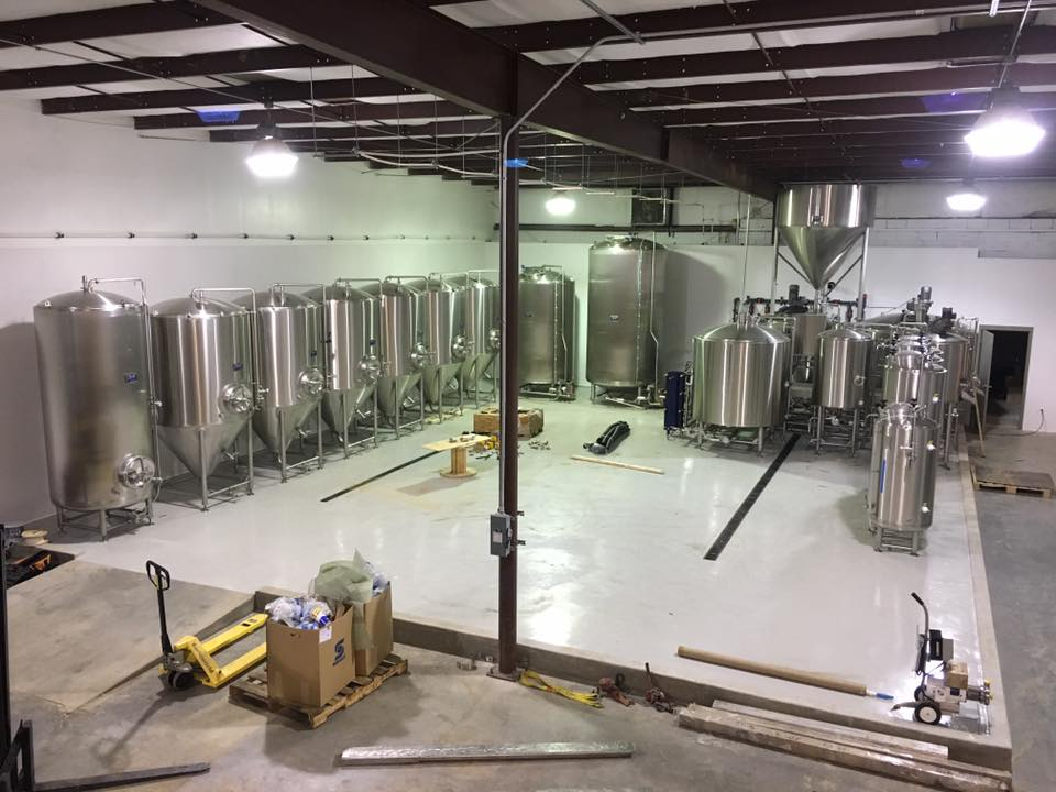 Large Commercial Brewing Tanks