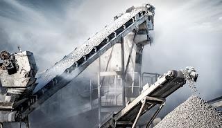 Large Industrial Conveyor Belts
