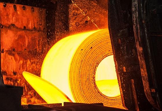 Molten roll of sheet metal