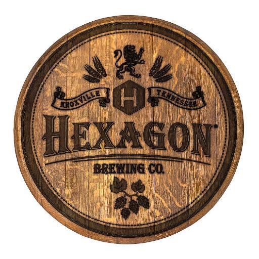 Hexagon Brewing Co. in Knoxville Tennessee Logo
